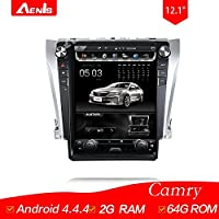 12.1Inch Android 4.4.4 Multimedia Player for CAMRY Auto GPS Navigation GPS+Mirrorlink+BT+Radio+AUX IN+DVR