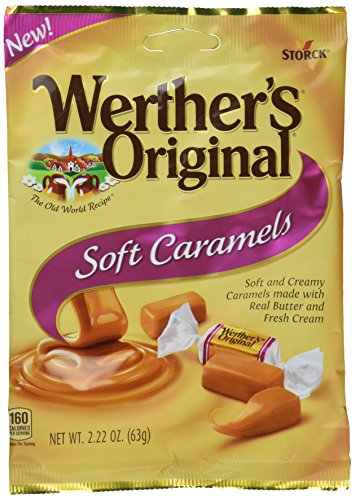 (Werther's Original New Soft Caramels 2.22 Oz (63g) (6 Pack))