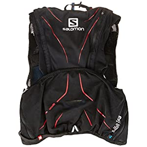 Salomon ADV Skin 12L Set Hydration Vest Black/Matador, XS/S