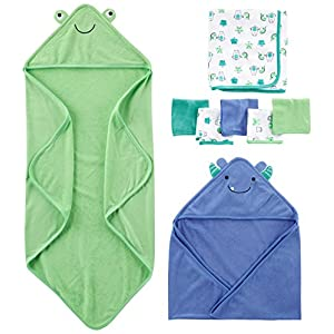Simple-Joys-by-Carters-Baby-Boys-8-Piece-Towel-and-Washcloth-Set