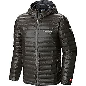 Columbia Outdry Ex Gold Down Hooded Jacket - Men's Black, M