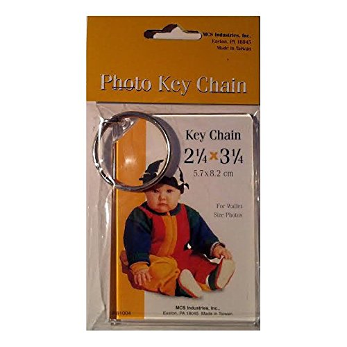 Photo Keychain 2.25 x 3.25 - 6 Pack