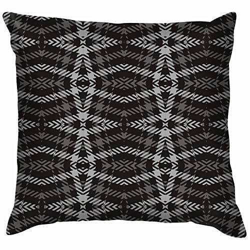 Ornamental Tartan Plaid Beauty Fashion Cotton Throw Pillow Case Cushion Cover Home Office Decorative, Square 20X20 Inch]()