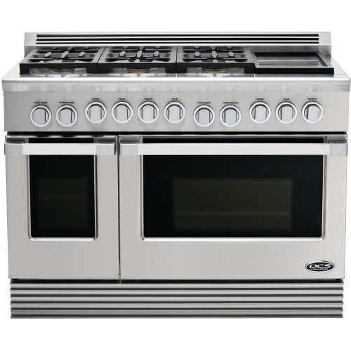 DCS RDU-486GD-N Range 48, 6 Burner, Griddle, Natural Gas
