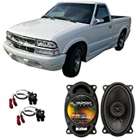 Fits Chevy S-10 Pickup 2002-2004 Front Dash Factory Replacement Harmony HA-R46 Speakers