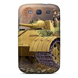 High Impact Dirt/shock Proof Case Cover For Galaxy S3 (military Tank)