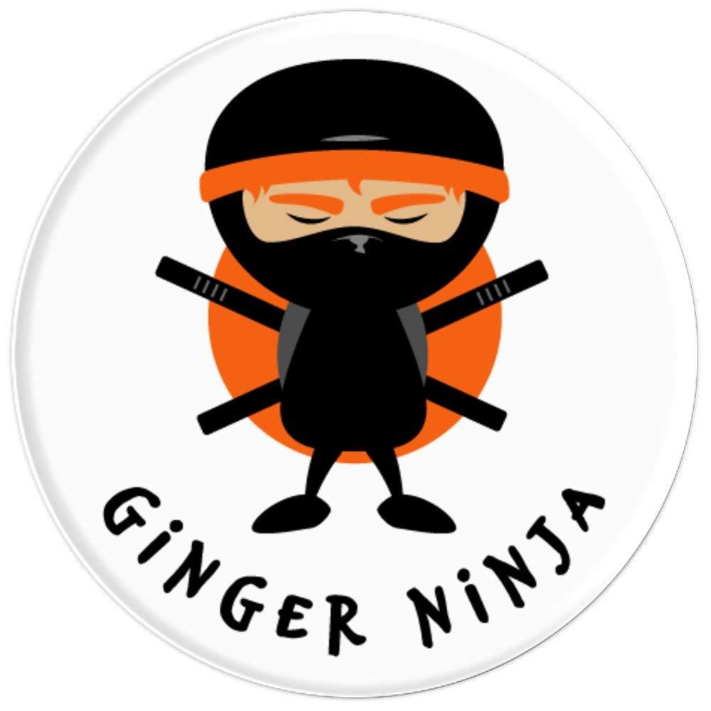 Amazon.com: Ginger Hair Gift - Funny Ginger Ninja on White ...