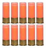 arm bullet - Ultimate Arms Gear 12GA Gauge Shotgun Safety Trainer Cartridge Dummy Shell Rounds with Brass Case, Orange, 10 Pack