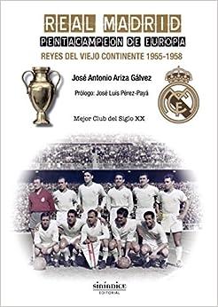 Book REAL MADRID PENTACAMPEON DE EUROPA