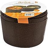 DECORA 0320160 Confezione Forme Canasta, Carta di Cellulosa, Marrone, 1000 g, 5 Pezzi