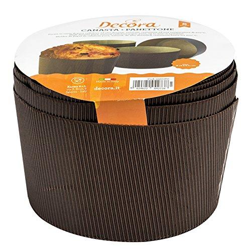DECORA Paquete de formularios de celulosa Tarjeta Canasta, Brown, 1000 g, 5 Piezas