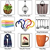 25 Pack Cup Hook Ceiling Hooks, 2.9