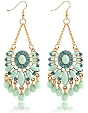 Sky Blue Drop & Dangle Earring For Women