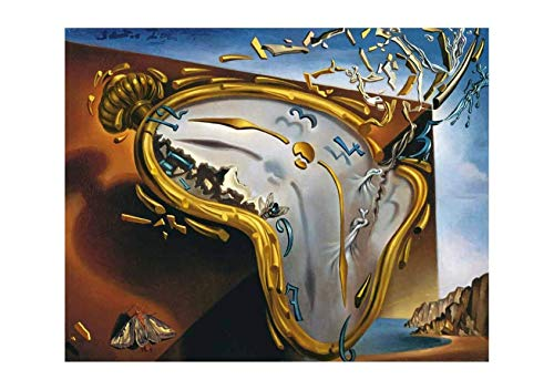 (Spiffing Prints Salvador Dali Soft Watch at The Moment of Explosion - Medium - Matte - Unframed)