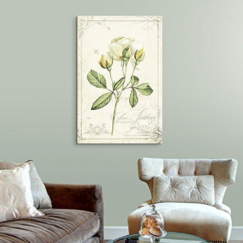 Vintage Style White Roses