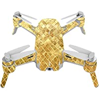 Skin For Yuneec Breeze 4K Drone – Golden Locks | MightySkins Protective, Durable, and Unique Vinyl Decal wrap cover | Easy To Apply, Remove, and Change Styles | Made in the USA