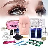 Best Eyelash Extension Kits - [Updated Version] 19pcs Eyelashes Extension Practice Exercise Set Review