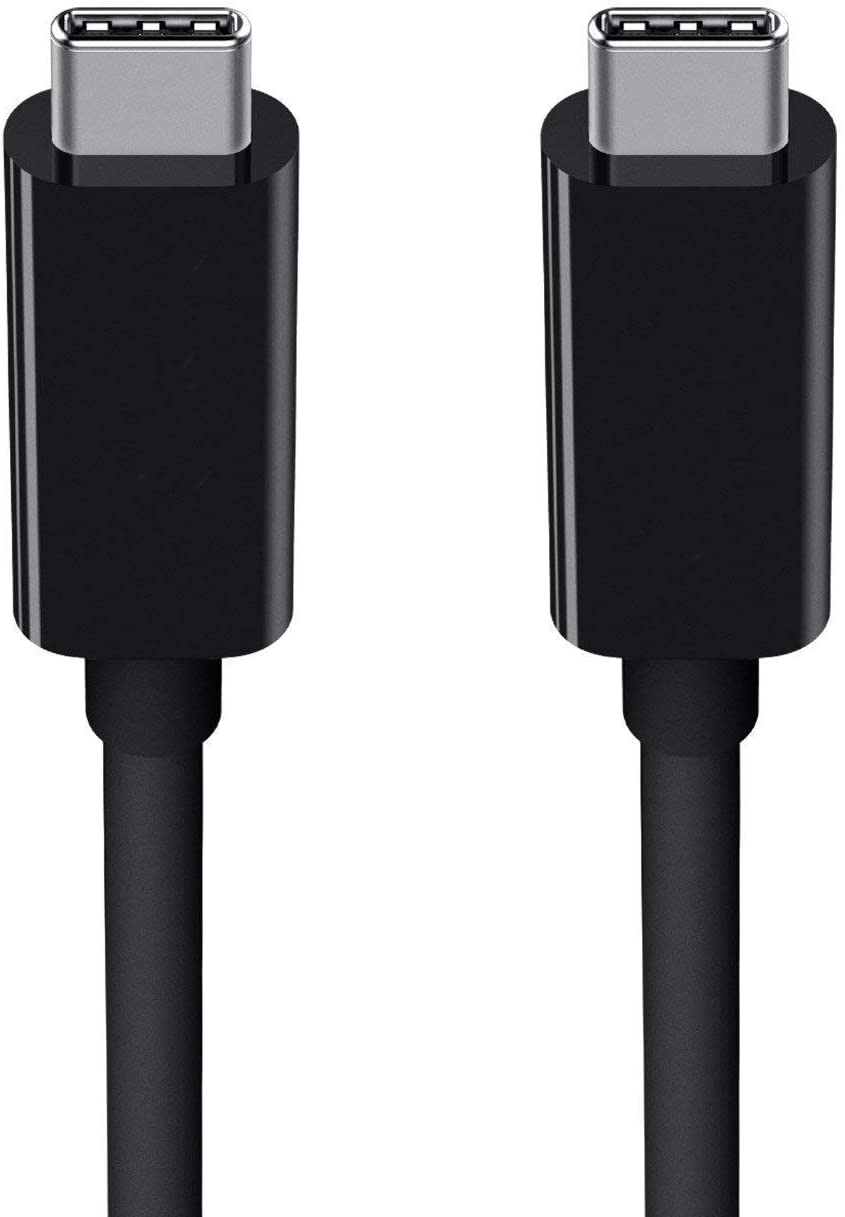 Black // 1M // 2.2ft 15W USB Type-C Direct Charging and Data Cable for Your Asus ZenPad S 8.0 Includes 2 USB Type-C Ends!