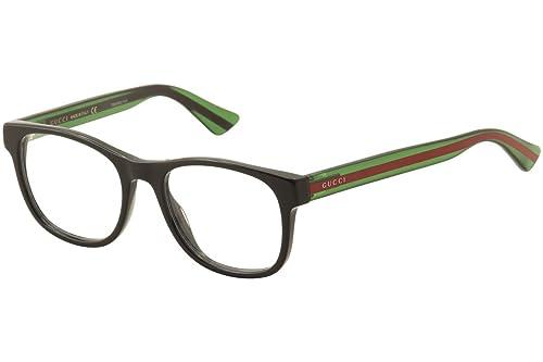 Gucci Montura 0004O_002 (53 mm) Negro / Verde