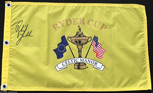 Ryder Cup Valhalla - PHIL MICKELSON SIGNED VALHALLA 2008 RYDER CUP GOLF PIN FLAG MASTERS PROOF J10