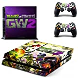 PLANT VS ZOMBIE 2 DESIGNER SKIN PROTECTOR FOR PS4 AND CONTROLLER SET