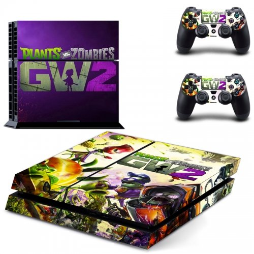 PLANT VS ZOMBIE 2 Stylish Design Vinyl Skin for Sony PS4 standard edition