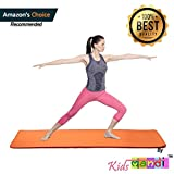 Kids Mandi™ Body Ripper Thick Yoga Mat with Cover (ASSORTED, 6MM)