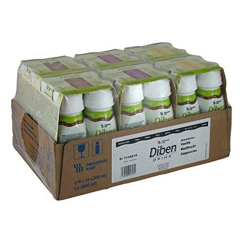 Diben Drink Mischkarton 1,5 Kcal/ml, 24X200 ml