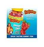 gummy fish omega 3 - Lil Critters Omega-3 Gummy Fish With Dha-180 Fish