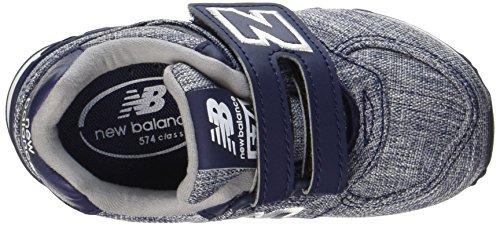 New Balance Unisex Baby Kv574v7i Sneaker Blau (Blue)
