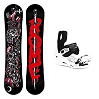 Rome Shank Stealth 2 Snowboard and Binding Package from Rome