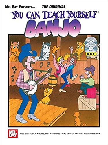 Amazon com: You Can Teach Yourself Banjo (Book/CD/DVD Set