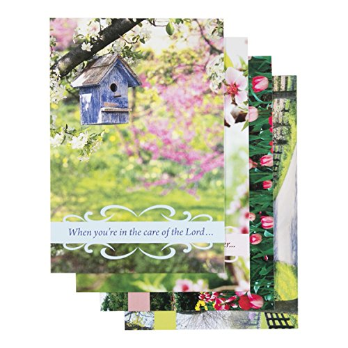 Get Well - Inspirational Boxed Cards - Birdhouses