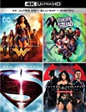 DC 4-Film Collection (Wonder Woman / Suicide Squad / Man of Steel / Batman vs. Superman: Dawn of Justice) [4K Ultra HD + Blu-ray + Digital HD]