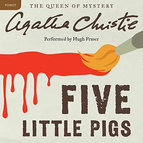 Bargain Audio Book - Five Little Pigs