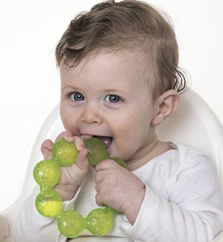 Nuby IcyBite Soothing Ring Teether 2pk - Colors May Vary