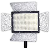 YONGNUO YN600L Pro LED Video Light/ LED Studio Light with 5500K Color Temperature and Adjustable Brightness for the SLR Cameras Camcorders, like Canon Nikon Pentax Olympas Samsung Panasonic JVC etc.