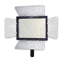 YONGNUO YN600 YN-600 Pro LED Video Light/ LED Studio Light with 5500K Color Temperature and Adjustable Brightness for the SLR Cameras Camcorders, like Canon Nikon Pentax Olympas Samsung Panasonic JVC etc.