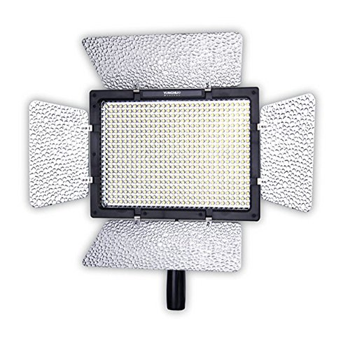 YONGNUO YN600L Pro LED Video Light/ LED Studio Light with 5500K Color Temperature and Adjustable Brightness for the SLR Cameras Camcorders, like Canon Nikon Pentax Olympas Samsung Panasonic JVC etc. by YONGNUO