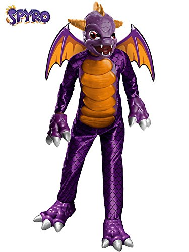 Deluxe Skylanders Child Costume Deluxe Spyro - Medium]()