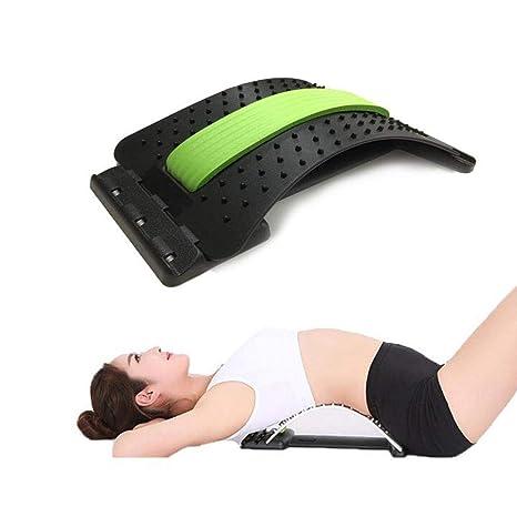 GW Estiramiento Equipo Espalda masajeador mágico Camilla Fitness ...