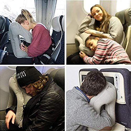WeTestPSZ-1 Inflatable Neck Pillow Used For Airplanes/Cars/Buses/Trains/Office Napping
