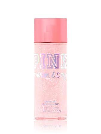 c7d05156af Image Unavailable. Image not available for. Color  Victoria s Secret PINK  Warm   Cozy Shimmer Body Mist
