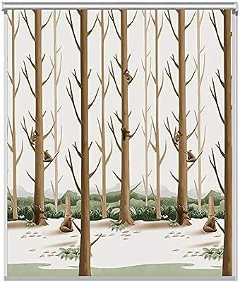 Persianas de bambú Persiana Enrollable para Habitación Infantil: Decor de Sombrilla A Prueba de Agua, Persiana Enrollable para Ventana para Cocina, Sala de Estar, Baño, Dormitorio, Simple y Elegante: Amazon.es: Hogar
