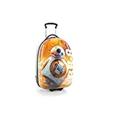 Amazon.com | Heys Star Wars BB-8 Orange Hard Case Luggage 18 Carry ...