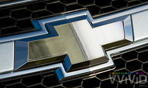 chrome chevy grill emblem - 5