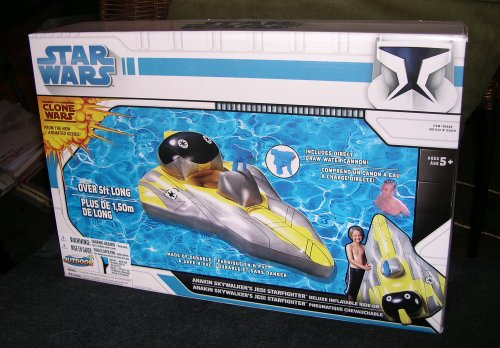 Anakin Skywalker's Jedi Starfighter Deluxe Inflateable Ride-On Float Clone Wars