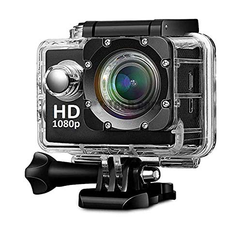Callie 1080 Action Camera, Dual 2 Inch LCD Screen 16 MP Image Sensor 170 Wide-Angle Lens Sports Camera