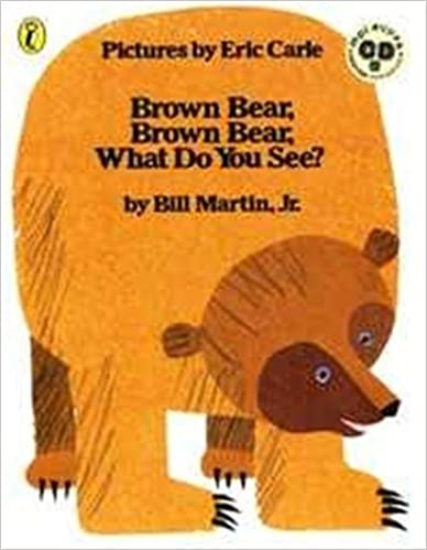 Brown Bear, Brown Bear, What Do You See? 英語絵本とmpiオリジナルCD付きの書影