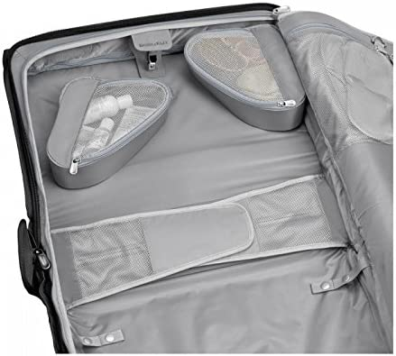 Briggs /& Riley Baseline-Softside Carry-On 2-Wheel Garment Bag Black